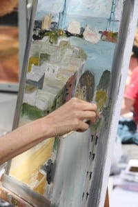 Kunsten i en Halvcirkel