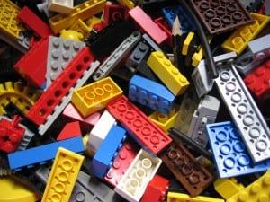 Leg med LEGO og vind