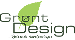 grønt design logo