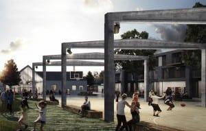 Ny helhedsplan for Viby bymidte