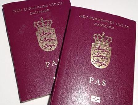 nyt pas ansøgningsblanket