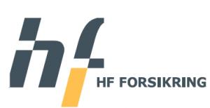HF forsikring logo
