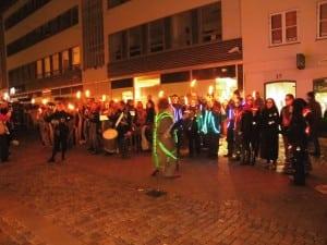 Lysfest på Kulturstrøget
