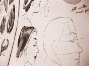 Lær at tegne portrætter