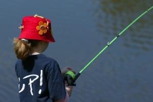 Fiskedag i Hedeland