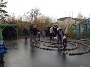 Kunst legeplads hos KulturCosmos