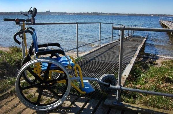 Kørestol ingen hindring