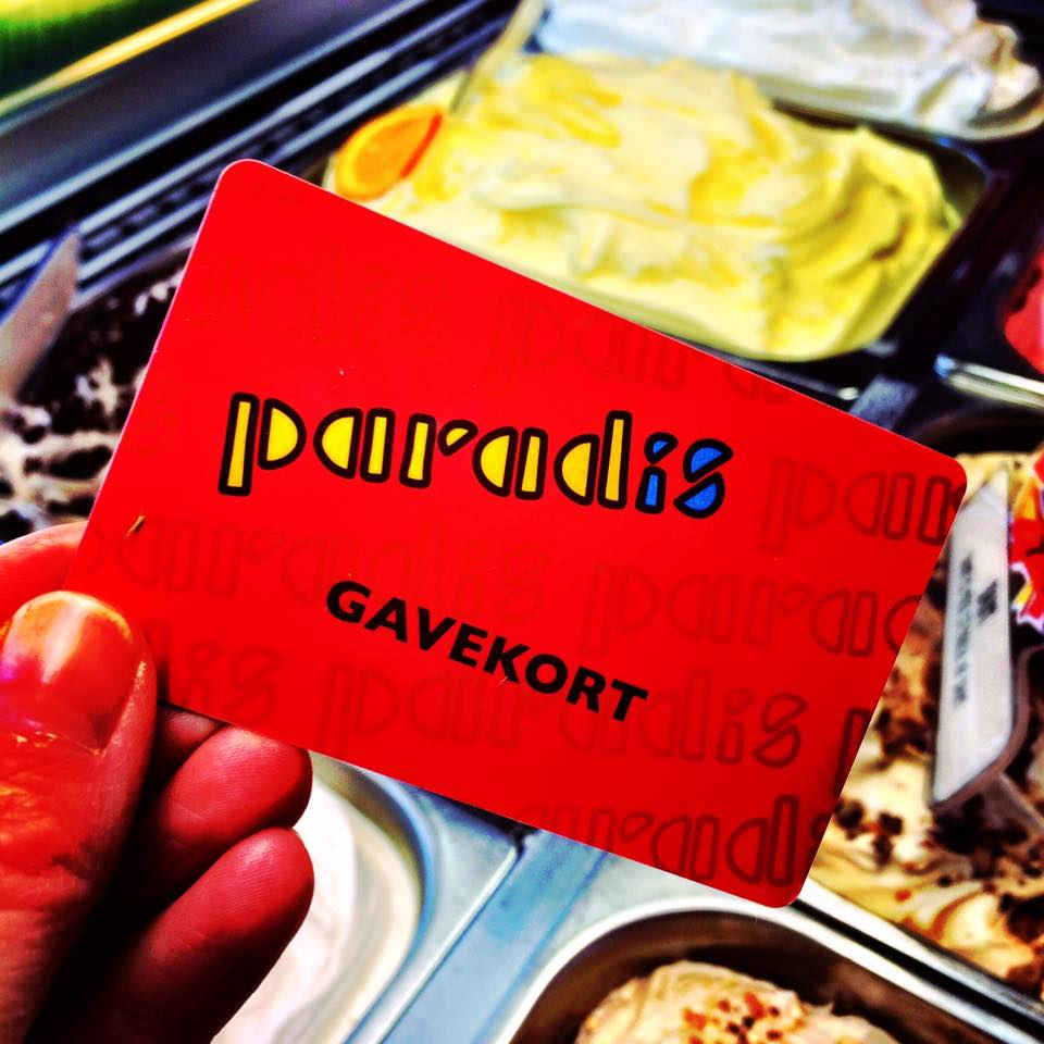 gavekort paradis is