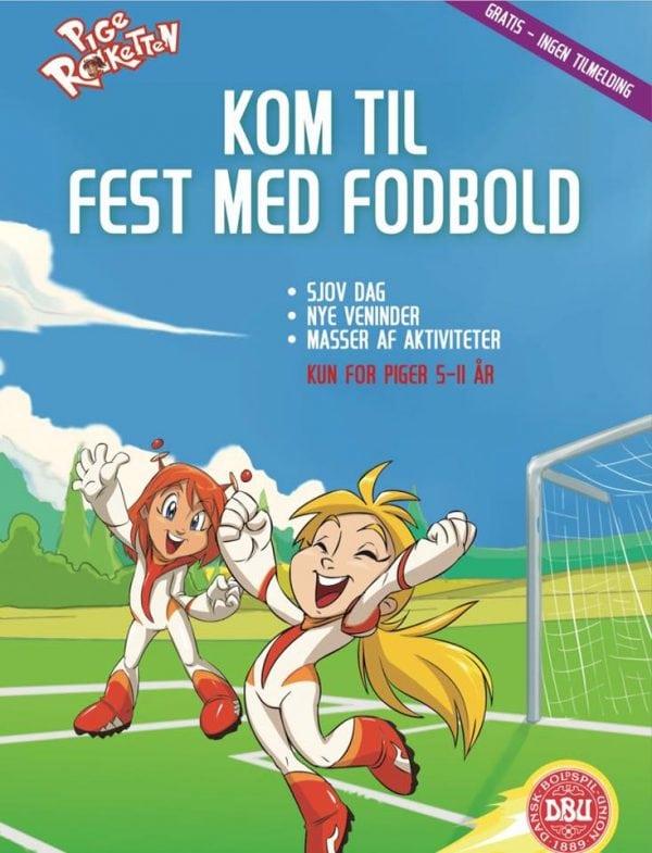 Fodboldfest for piger