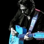 Kip Winger på guitar