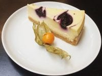 Cheesecake på menuen
