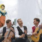 """Gundsø Teater- og Musik præsenterer """"Elskov, vin & basfioler"""""""