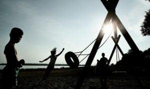 Der er 28 legepladser i Roskilde kommune