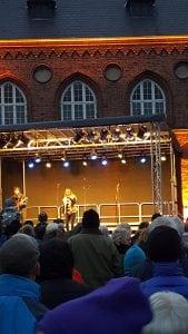 Juletræstænding i Roskilde