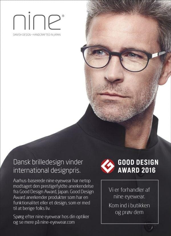 Dansk brilledesign vinder international designpris
