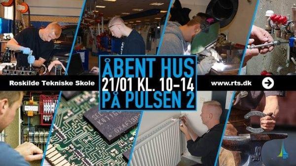 Roskilde Teknisk Skole holder åbent hus.