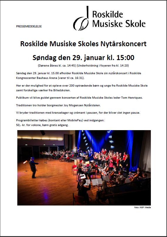 Nytårskoncert i Roskilde