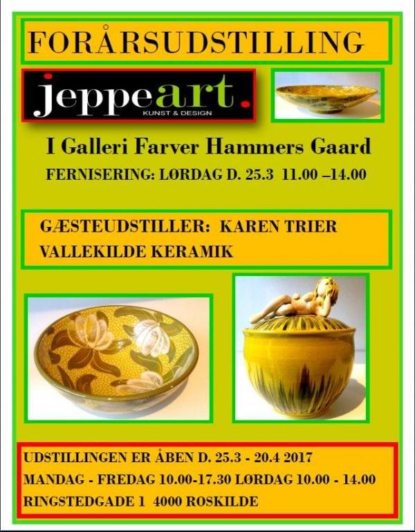 Forårsudstilling hos JeppeArt