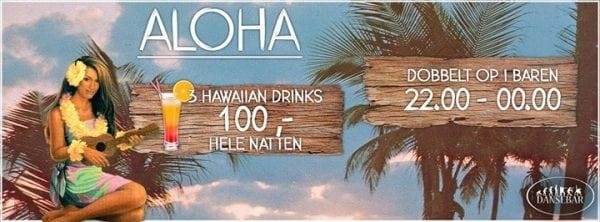 Hawaii stemning på Dansebar