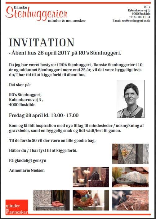 Invitation10 års jubilæum