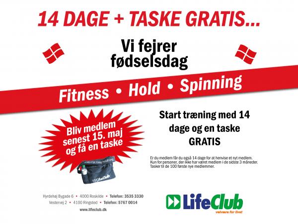 14 dage gratis træning