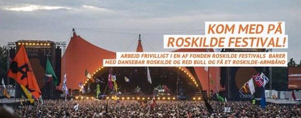 Dansebar søger frivillige til Roskilde Festival