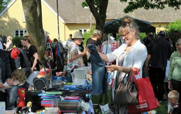 Loppemarked i Jyllinge