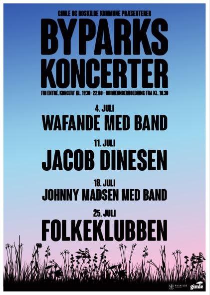 Byparkkoncerter i Roskilde