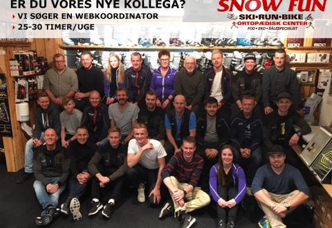 Foto: Snow Fun Ski & Run ( Officiel ) søger ny medarbejder / WEBKOORDINATOR