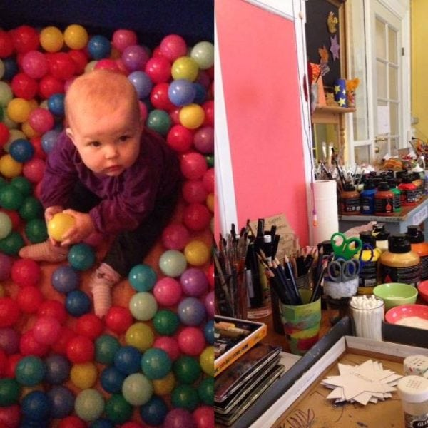 Kreativ værksted og sanseudstilling for 0-12 årige