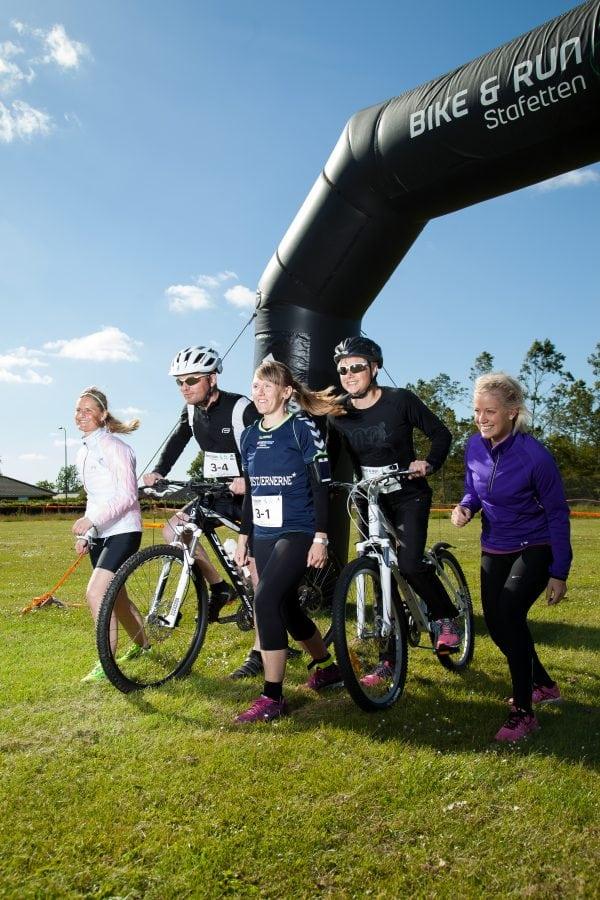 Bike & Run Stafetten rammer Roskilde