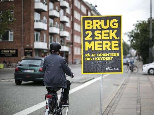 To ud af tre alvorlige cykelulykker sker i kryds