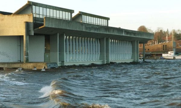 Vikingeskibene bliver bedre sikret mod stormflod