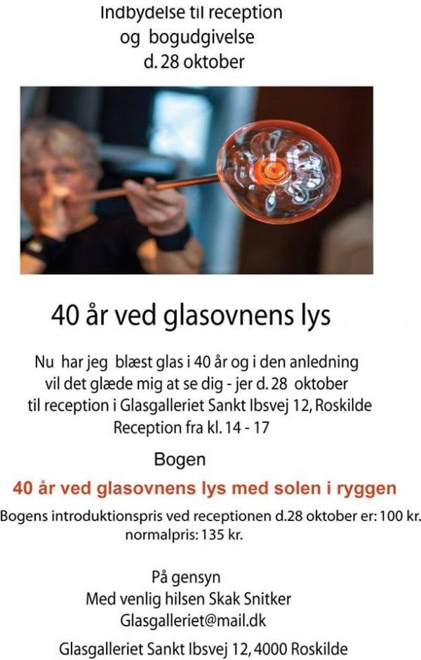 40 år ved glasovens lys