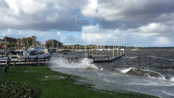 Roskilde i stormvejr