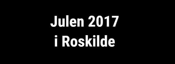 Optakt til julen i Roskilde....