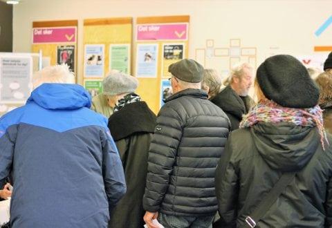 Billeder fra valgdagen i Roskilde