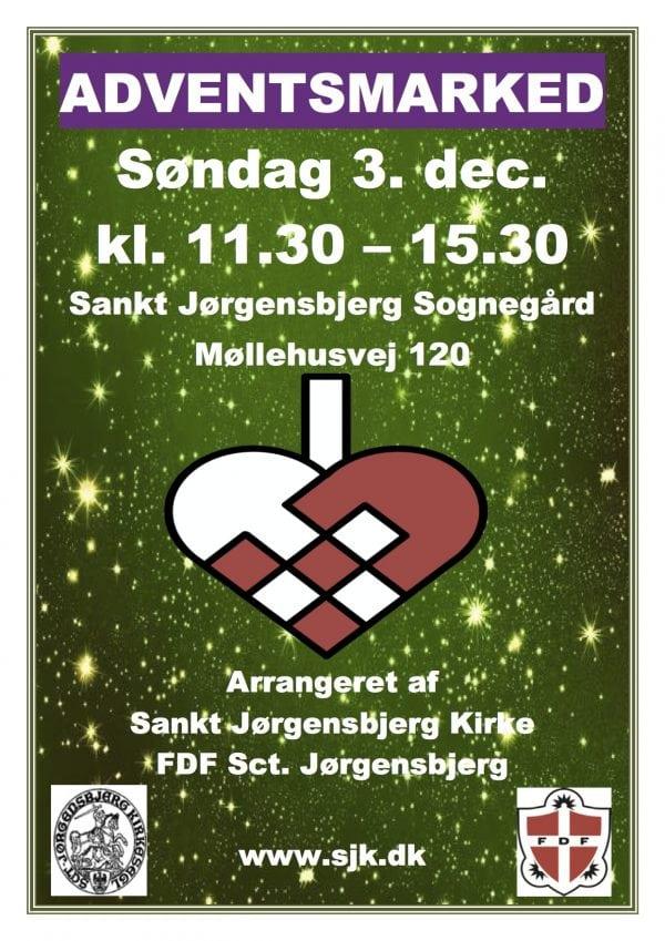 Adventsmarked på Sankt Jørgensbjerg