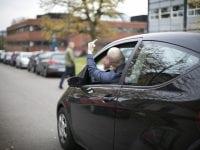 Fingeren. Foto: Rådet for Sikker Trafik
