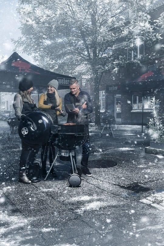 Hold grillen varm i en kold tid med Weber og Silvan i Roskilde