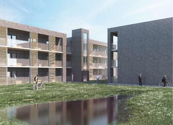 80 studievenlige boliger på vej i Roskilde