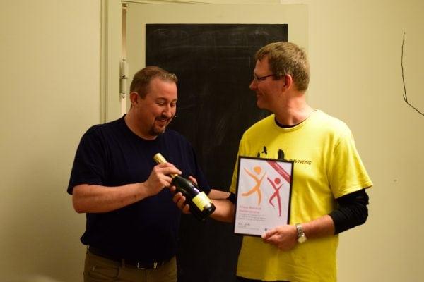 Natteravnen Klaus Walmod vinder Frivilligprisen 2017