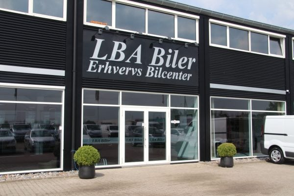 LBA Biler - Brugte erhvervsbiler