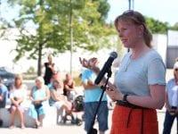 Festen blev åbnet af borgmester Joy Mogensen. FOTO: Ida Dalsgaard Nicolaisen