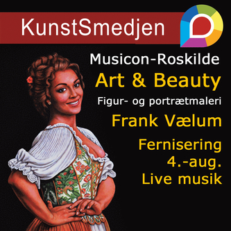 Fernisering: Art & Beauty - og live musik