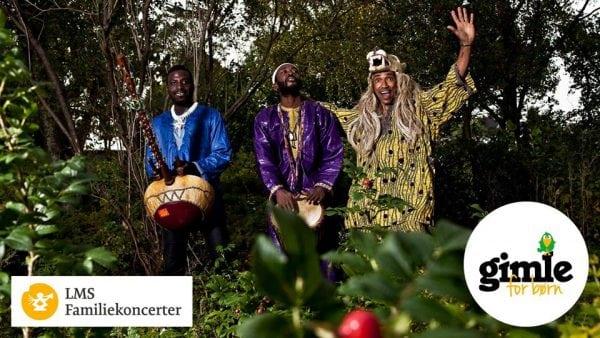 Moussa Diallo Trio – LMS familiekoncerter