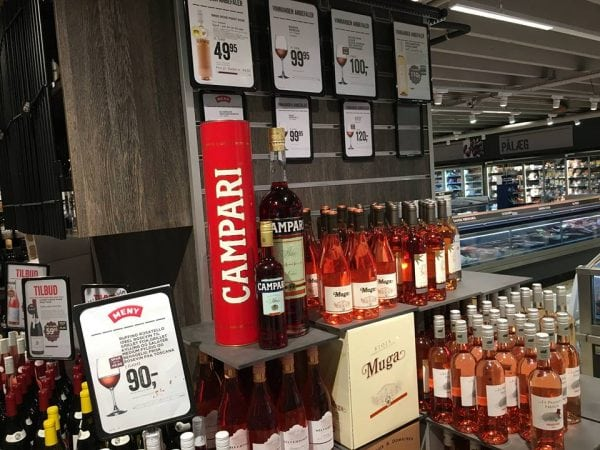 Vind én 3 liters Campari