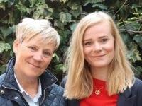 """Op mod 85.000 mennesker i Danmark lever med en demenssygdom. Dorthe Boss Kyhn og Ida Hinchely har skrevet bogen, """"Momse med demens"""", der giver et personligt indblik i livet som pårørende. Pressefoto"""