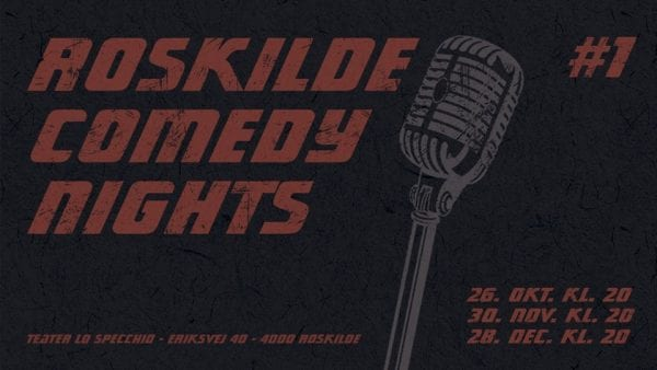 Ny fast comedy-aften i Roskilde