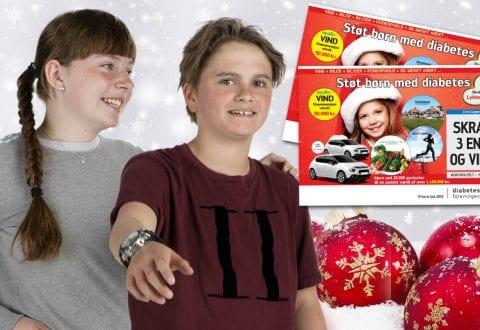Foto: Diabetesforeningens juleskrabelodssalg